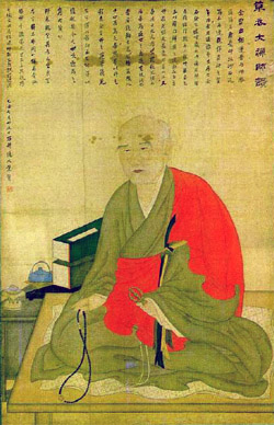 Cho Ui, also known as &quot;Dasan&quot;  (from www.koreanbuddhism.net)
